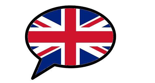Bulle avec drapeau anglais