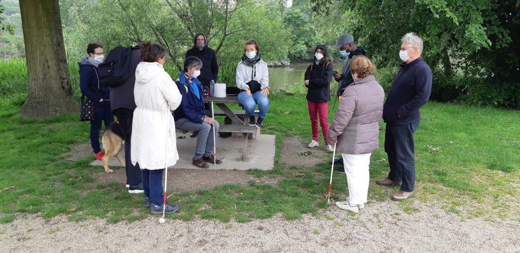 Photo de l'équipe des testeurs CLISSAA