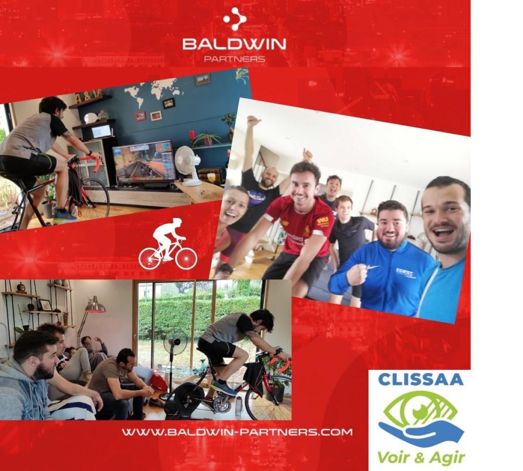 3 photos de groupe pour l'évènement de la fondation Baldwin Partner et CLISSAA